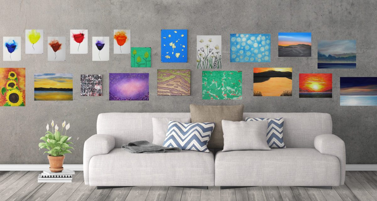 Turn Your Paintings Into Notecards or Greeting Cards